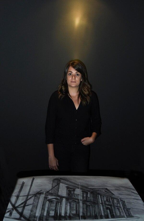 27/02/2018. Hora 10:30 a.m. Stephanie Williams creó planos ficticios sobre el Palacio Nacional. Carlos González/Grupo Nación.