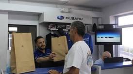 Autos Subaru les dice adiós a las bolsas de plástico