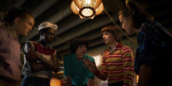 'Stranger Things' se encontraba grabando la cuarta temporada. Foto: Netflix.
