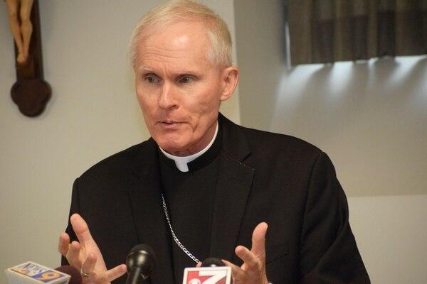 El obispo Mark Brennan anuncipoi este martes 23 de julio del 2019 su designación como titular de la diócesis de Wheeling-Charleston.