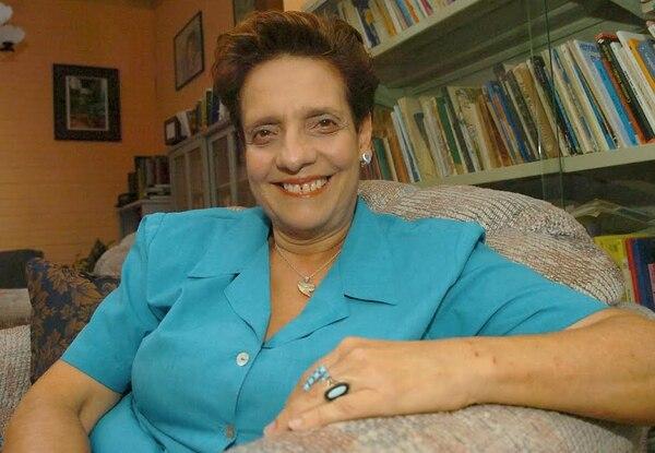 Julieta Dobles. Fotografía del 2006.