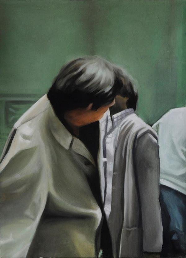6. Coincidencia 3 . Pintura al óleo de Diana Barquero.