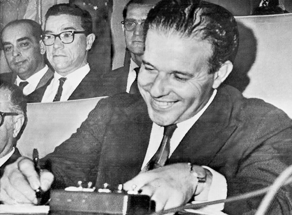 João Goulart fue derrocado en 1964 y murió en Argentina en 1976. | AFP.