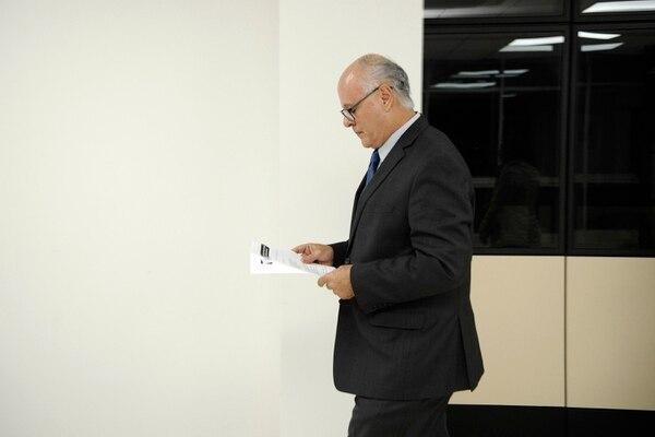 Fernando Castillo, presidente de la Sala IV. Foto: Rafael Murillo