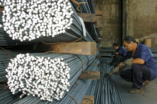 La mayoría de varilla de construcción importada al país, proviene de Turquía. Foto de Jorge Castillo.