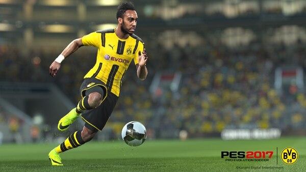 El modelo del jugador del Borussia Dortmund, Pierre Emerick Aubameyang
