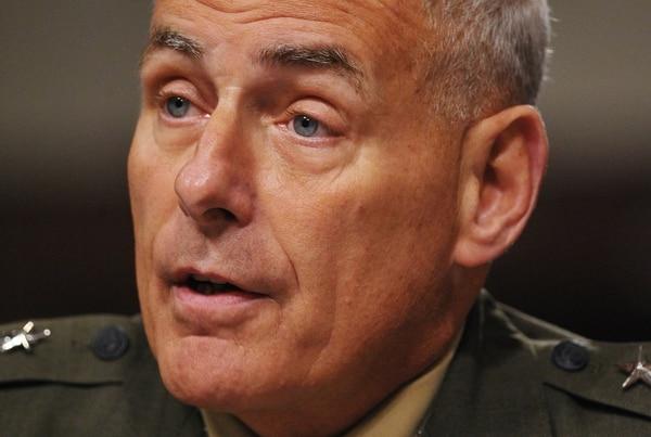 El general John Kelly durante una audiencia, en marzo del 2014, en el Comité de Servicios Armados del Senado.