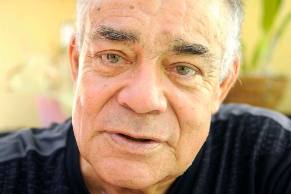 El popular y querido locutor deportivo Manuel Antonio