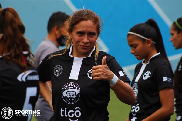 Karla Villalobos es la goleadora del Torneo 2020, con 10 tantos. Fotografía: Prensa Sporting.
