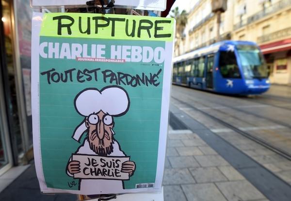 Portada del nuevo número de Charlie Hebdo