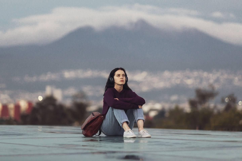 La actriz Ana Valeria Becerril protagoniza la serie 'Control Z'. Fotografía: Netflix para La Nación