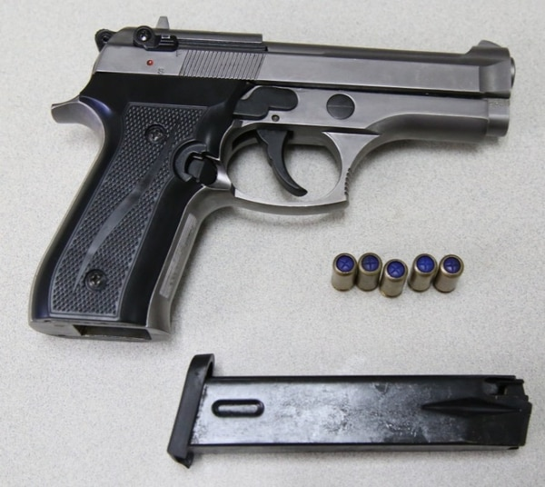 Las armas menos letales tienen similitudes con pistolas. Foto: MSP para LN