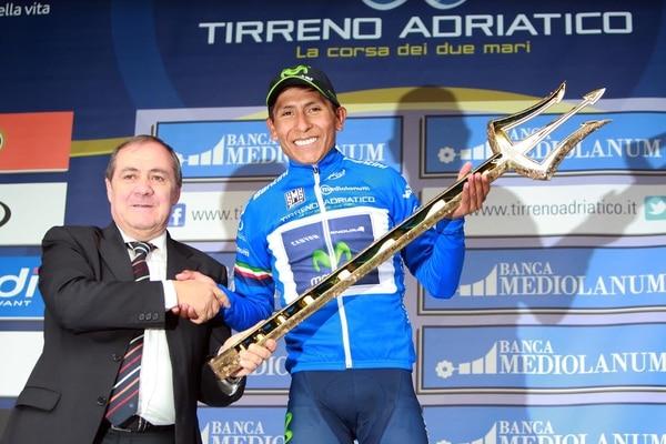Nairo Quintana es el campeón de la Tirreno Adriático.