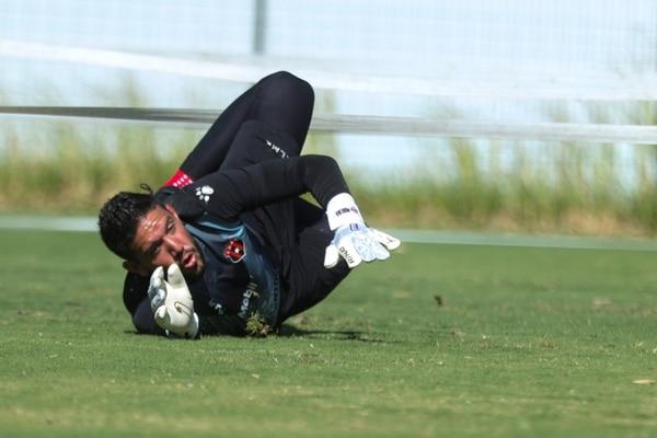 Leonel Moreira ya ha jugado cinco partidos con la Liga. Fotografía: José Cordero