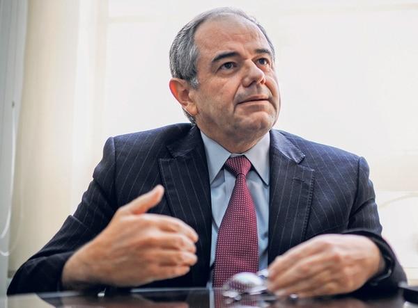 Bernardo Alfaro, nuevo jerarca de la Superintendencia General de Entidades Financieras (Sugef). Foto: Gabriela Tellez.