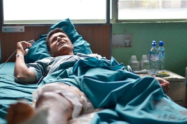 Sergio Alvarado, de 23 años, está en el centro de atención del INS desde el lunes pasado. Después del accidente en moto que sufrió, fue atendido, primero, en el Hospital Max Peralta de Cartago. | MARIANDREA GARCÍA PARA LN