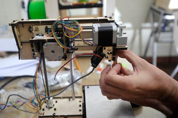 Este tipo de impresoras permiten desarrollar todo tipo de creaciones, entre ellas zapatos y hasta comida.