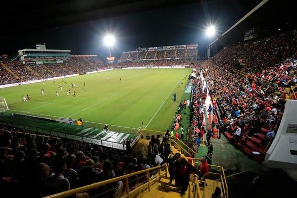 Alajuelense Codea recaudó ¢20 millones en la final nacional de fútbol femenino en diciembre de 2019. Fotografía: Rafael Pacheco
