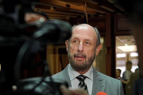 El presidente del PLN, Jorge Pattoni. Foto: Melissa Fernández