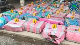 Detenidos tres tripulantes de lancha con 1.000 kilos de marihuana