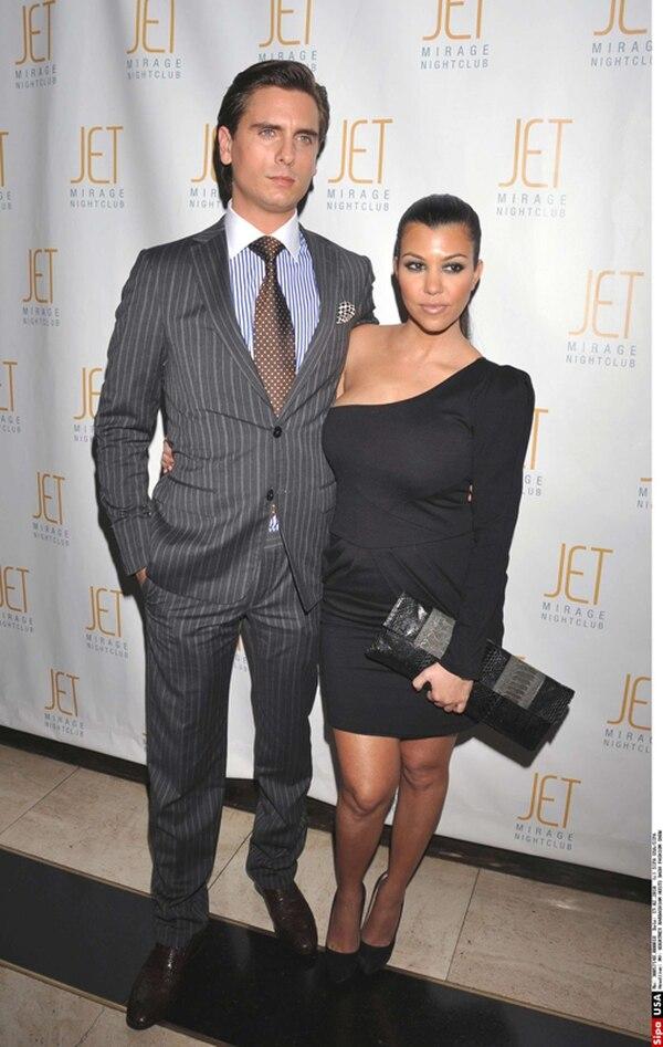 Scott Disick y Kourtney Kardashian tienen una relación desde hace varios años. Ellos tienen dos hijos. Foto: Archivo