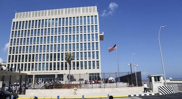 Embajada de los Estados Unidos en La Habana, la cual fue estrenada el 14 de agosto del 2015.