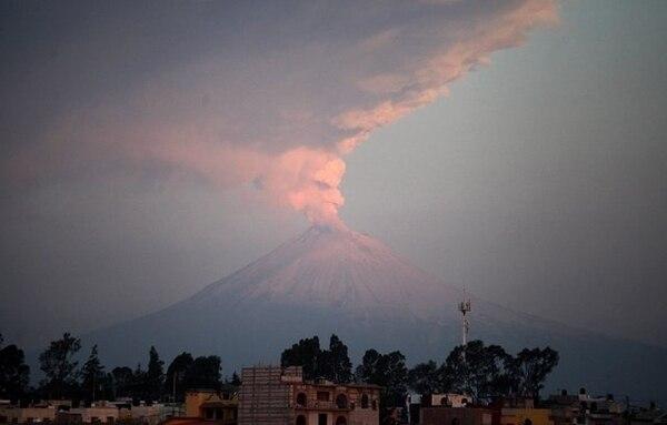 Volcán Popocatépetl ha registrado actividad desde hace varias semanas.