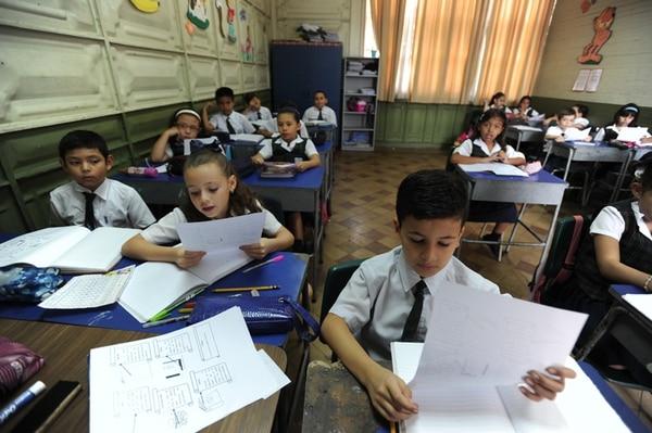 Una de las grandes áreas que evaluará la OCDE con estándares de países desarrollados es a educación costarricense. | JORGE NAVARRO