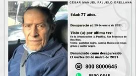 Rescatan de alcantarillado a adulto mayor desaparecido desde lunes