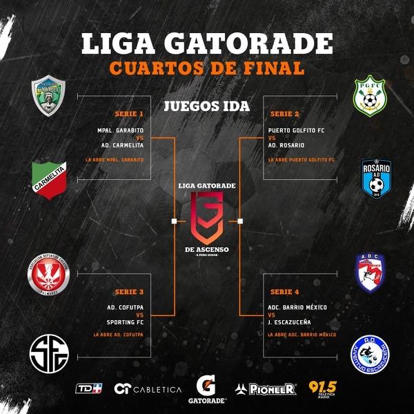 La Liga de Ascenso ya tiene definidos sus cuartos de final del Torneo de Apertura 2019.