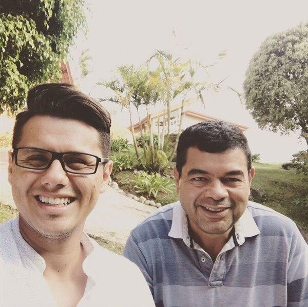 Marcelo Castro y Johnny López celebraron recientemente nueve años de relación. Fotografía: Facebook de Marcelo Castro.