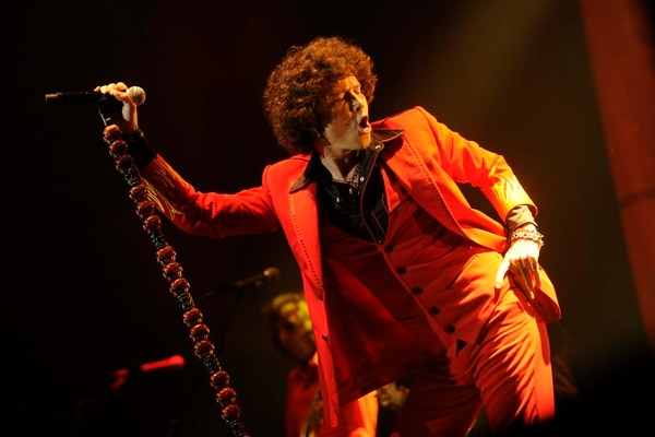 Enrique Bunbury se presentó en El Palacio de los Deportes, en Heredia, en junio del 2012.