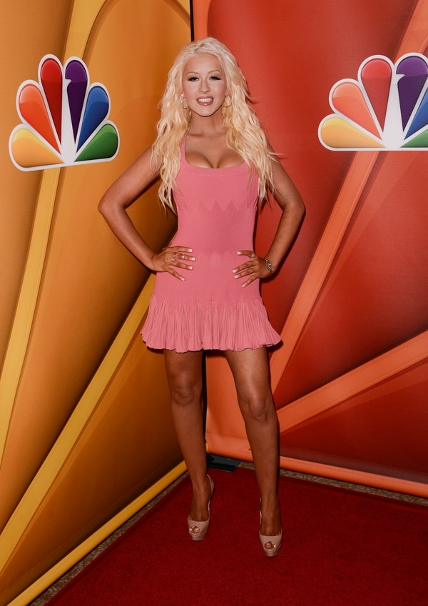 La cantante Christina Aguilera anunció su regreso al programa The Voice