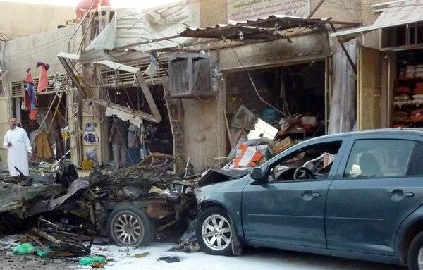 Atentados ocurrieron en cuatro barrios de Bagdad, en Irak