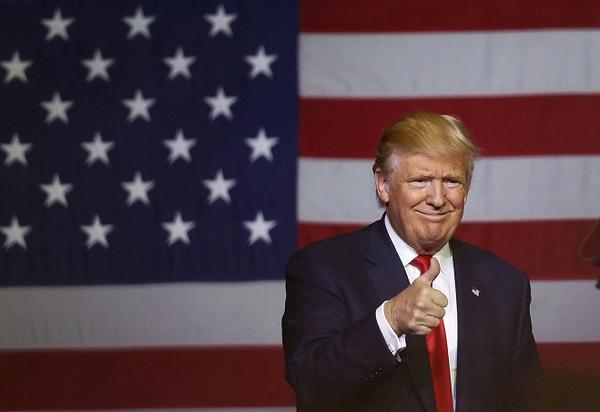 El candidato republicano, Donald Trump. AFP