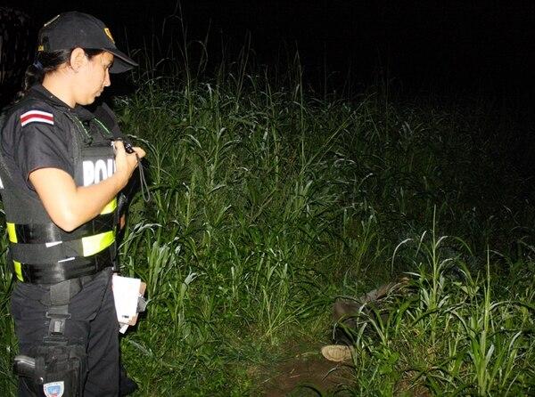 El cuerpo del hombre fue hallado en un callejón solitario. | REINER MONTERO
