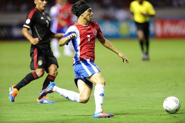 En setiembre, ante México en el Estadio Nacional, Christian Bolaños fue uno de los pocos ticos que rindió a plenitud.