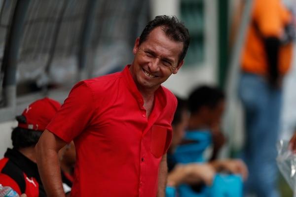 Wilmer López salió satisfecho con el empate 1-1 de Alajuelense ante Limón FC