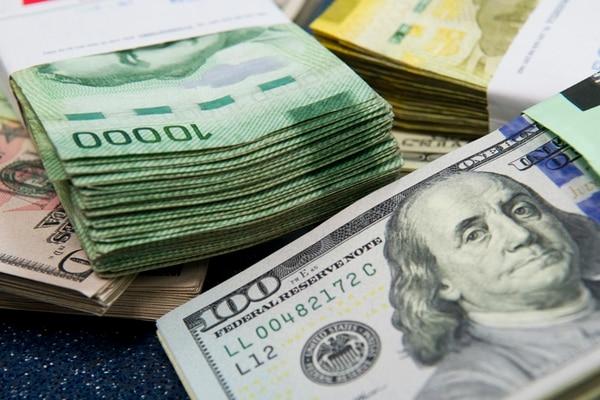 Para evitar que el precio del dólar respecto al colón suba, el Banco Central vende divisas de sus reservas monetarias internacionales, las cuales ascienden a $7.660 millones.   ARCHIVO/LUIS NAVARRO