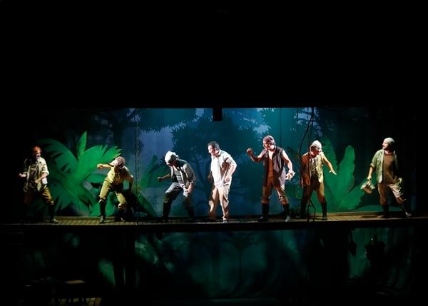 La adaptación teatral de Mamita Yunai se estrenó en agosto del 2018.. Foto: Albert Marín.