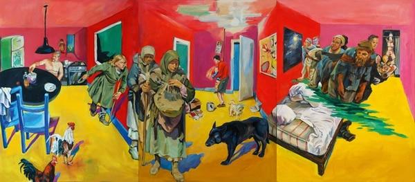 "Obra ""Desplazamiento"" de Phillip Anaskin.   VALOARTE PARA LN"
