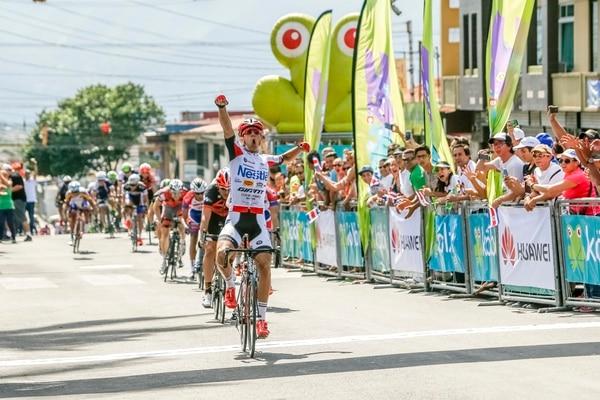 Gabriel Marín fue el más veloz.