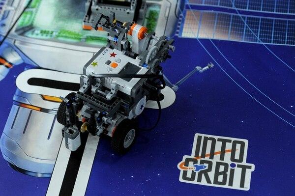 Los competidores bautizaron su equipo como Orbizona y a su robot, lo llamaron