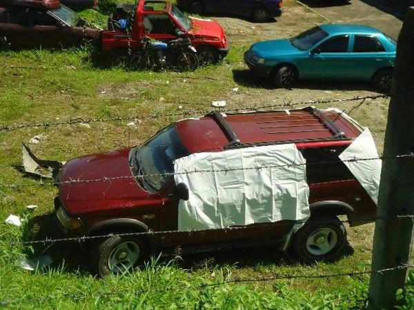 Ariel Gordon murió al recibir los balazos mientras viajaba en este vehículo. | ARCHIVO LN