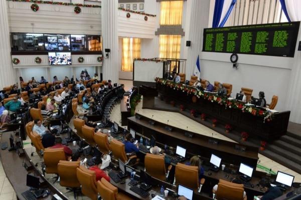 La reforma a la ley de Concertación Tributaria fue aprobada con 69 votos a favor y 15 en contra. Foto: La Prensa de Nicaragua