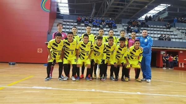 El Borussia Futsal, en categoría Sub 18, terminó tercero en España, realizando una aceptable participación.