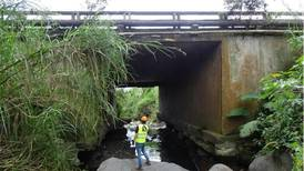 Lanamme advierte de posible colapso de puente en vía Cartago- Paraíso
