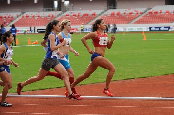 Ana María Porras durante su participación en los Juegos Centroamericanos.