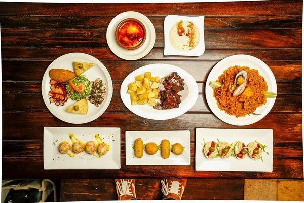 Plaza España ofrecerá paella, rabo al vino tinto y un plato surtido con los entrantes de la casa.