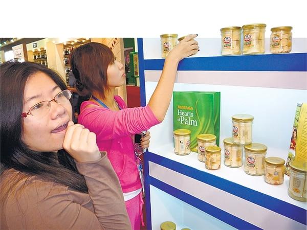 Los chinos se sienten atraídos por los productos costarricenses como el palmito, la cerveza, los concentrados de fruta, los jugos, la leche, entre otros. | ARCHIVO